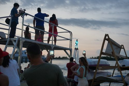 NOLA Flyboarding, YNOT Dock open at Lakeshore Landing